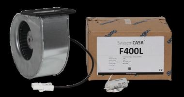 Puhallin H410 -mallin tulo / poisto